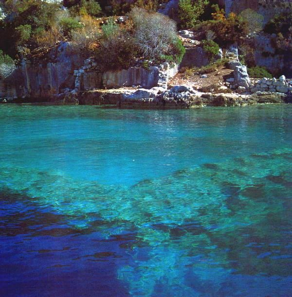 "#kekova one of the most beautiful places to swim ""in"" the history... #turkey #photography"