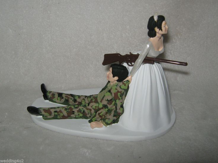 Wedding Cake Toppers Army Pictures