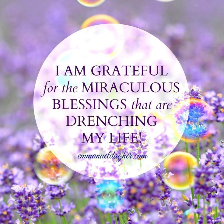 I am grateful for all the blessing I am about to receive coming from above ..I an open to receive. .