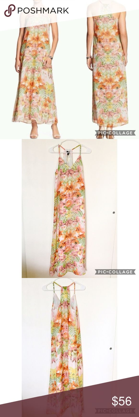 🌴NWT Banana Republic Tropical Print Maxi Dress NWT Banana Republic tropical print maxi dress! Beautiful colors, light and airy chiffon material, fully lined. Size 4. Please feel free to ask any questions before purchasing. I am happy to provide measurements/photos upon request! 😊  ❣️Open to Offers ❣️No Trades or Holds ❣️Smoke Free Home ❣️Bundle Discounts! 15% off 2+ items Banana Republic Dresses Maxi