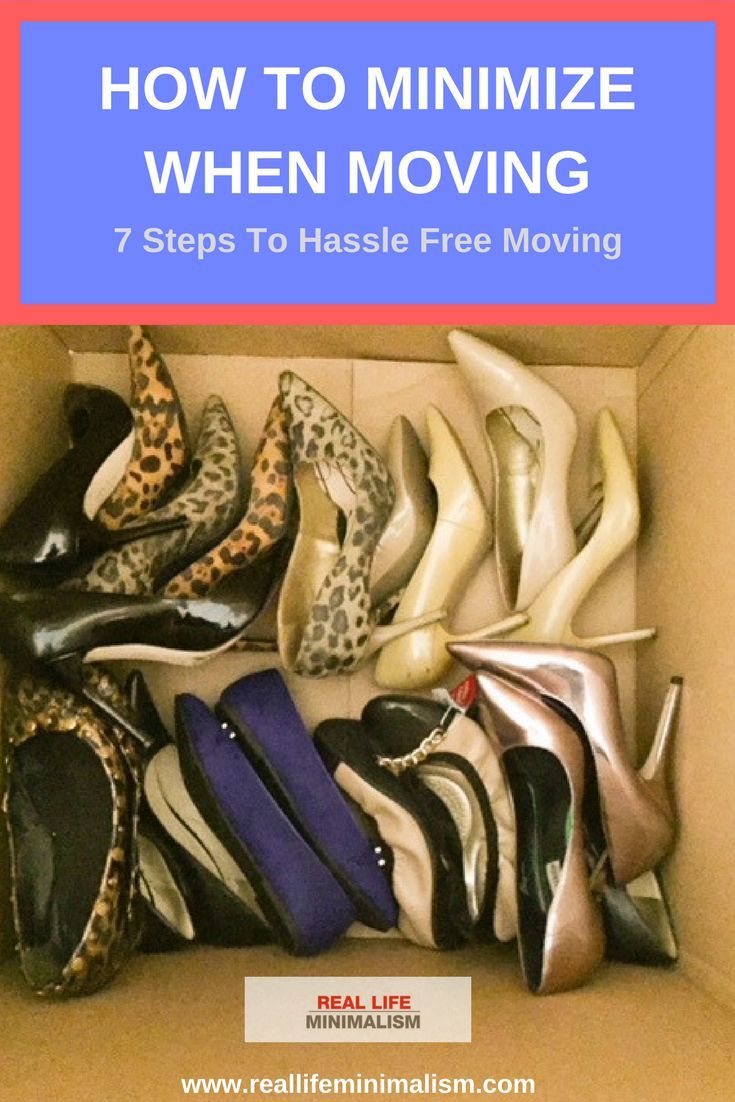 How To Minimize And Declutter When Moving