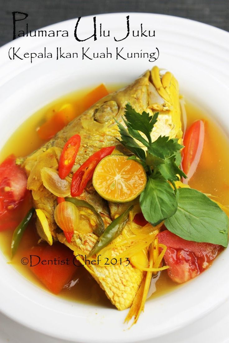 Resep Palumara Ulu Juku Spicy Red Snapper Fish Soup Recipe With Tomato Chilli Tamarind Lemongrass And Turmeric Based Seasoning Resep Ikan Resep Masakan Masakan