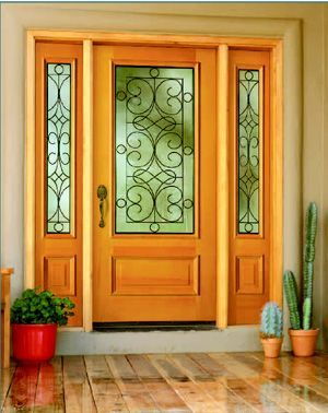 Wrought Iron Entry Door – An Affordable