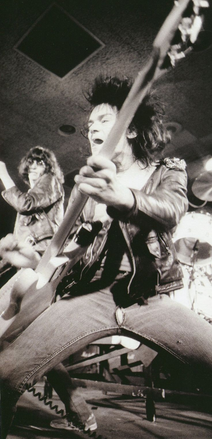 The Ramones, 1977 saw them in 77. They were nothing like i had ever funking seen before...i was hooked