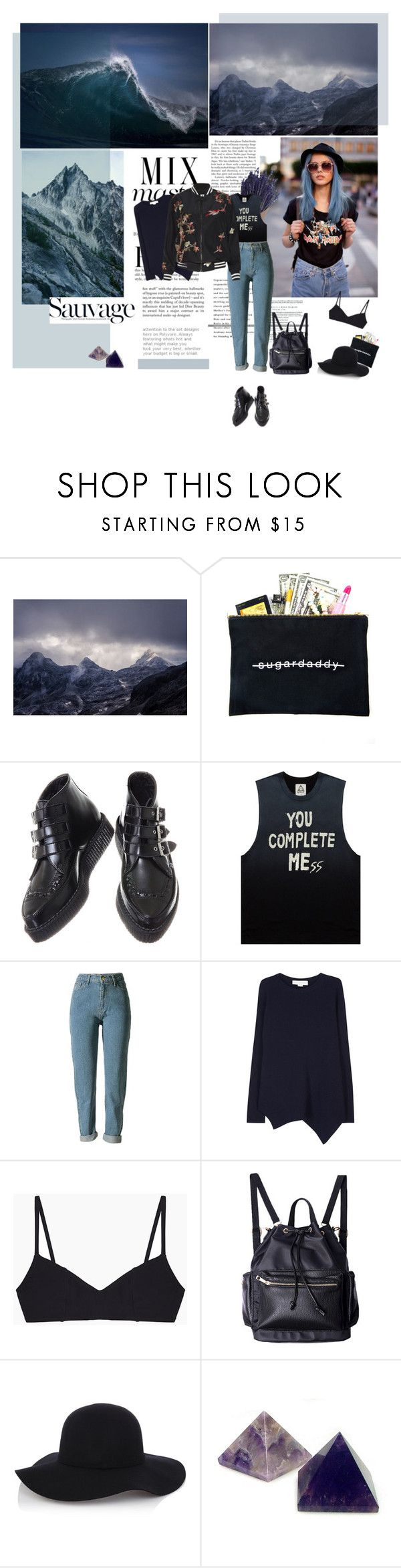 """Landscapes"" by solespejismo on Polyvore featuring Libertine, Dimepiece, STELLA McCARTNEY, Araks, Warehouse, Anja and Alice + Olivia"