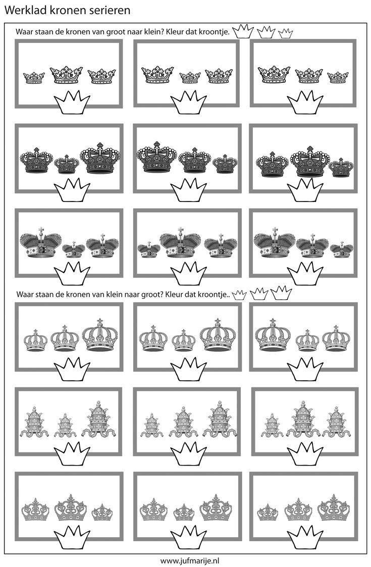 Kronen seriëren Groot - klein / Klein - groot