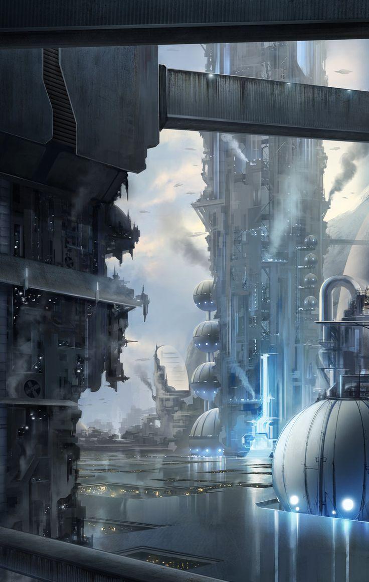 Upper City by SebastianWagner on deviantART