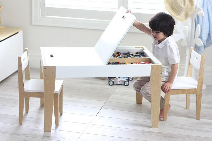 Benji Childrens Activity Table & 2 Chairs Set by Hip Kids