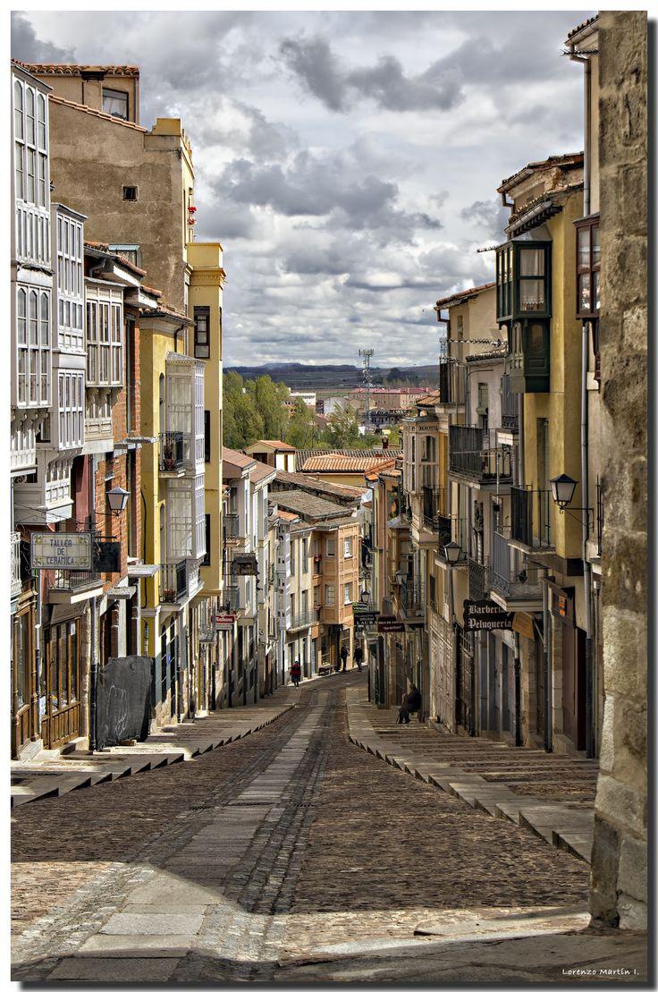 Calle de Balborraz, Zamora, Castille n Leon_ Spain