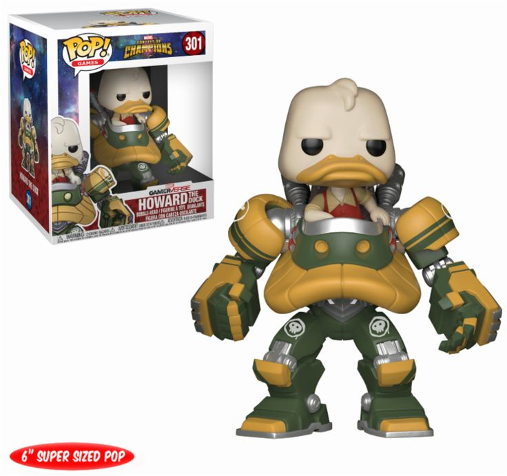Oooh baby! Now available at Collekt; Marvel - Contest ...  come and get it http://www.collekt.co.uk/products/marvel-contest-of-champions-howard-the-duck-301?utm_campaign=social_autopilot&utm_source=pin&utm_medium=pin #Funko #funkopop #Funkouk
