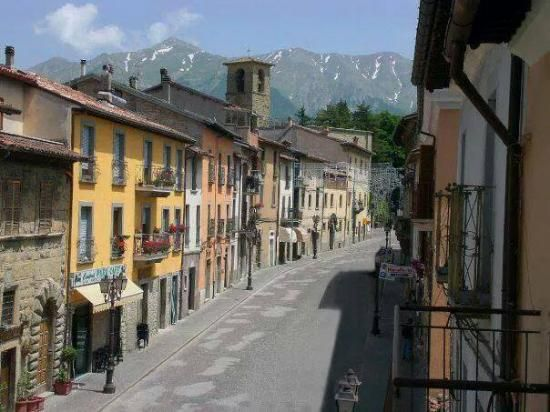 Amatrice, Italy - where the earthquake hit in Aug. 2016
