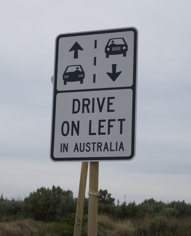 Drive on the left side