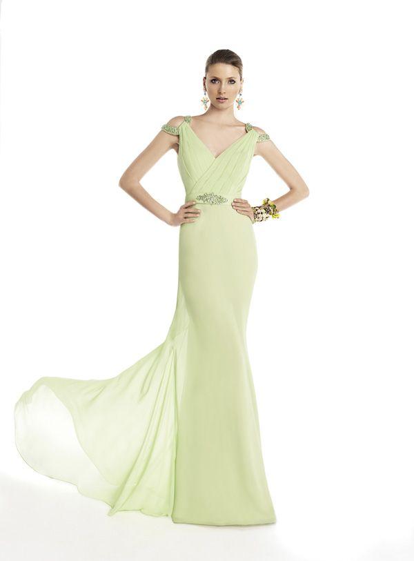21 best vestidos images on Pinterest   Cute dresses, Formal prom ...