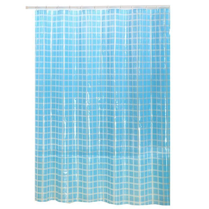 Cortina de baño Modelo Cristal Square Decorinter #showercurtain #bath #decorinter #cortinadebaño #baño #pvc #deco