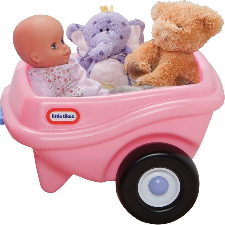 Little Tikes Cozy Coupe Trailer Pink | ToysRUs Australia
