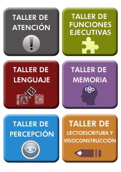 Juegos de funciones ejecutivas - TALLERES COGNITIVA