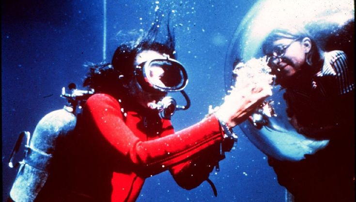 Dr. Sylvia Earle displays samples to aquanaut inside TEKTITE. Appears in National Geographic August 1971. Explore and be inspired at a Wanderlust Festival this year. Find out more   2016 ...