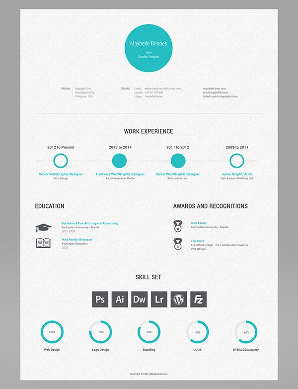 26 best images about Currículo criativo on Pinterest - graphic design student resume