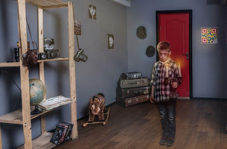"""Ничего необычного! Просто детская комната с привидением...Реальный квест """"Фотолаборатория призрака"""" #Квесты"""