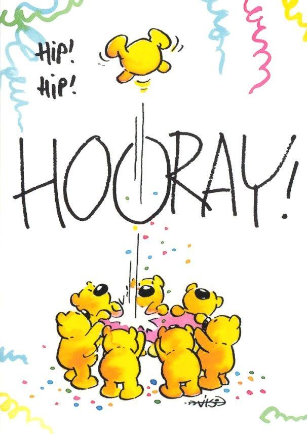 Hip! Hip! Hooray! -LeendertJanVis