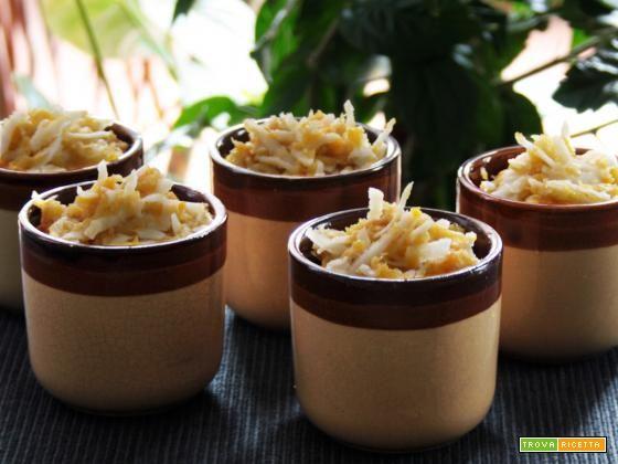 Dolce di platano (Paçoca de banana da terra), buonissimo nella sua semplicità.  #ricette #food #recipes