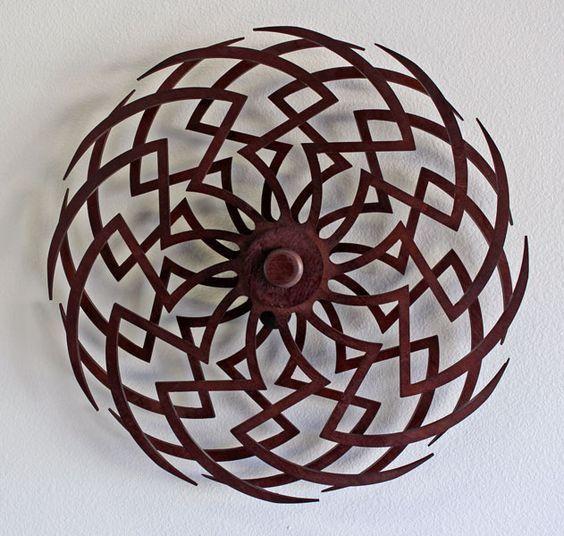 Zinnia Kinetic Sculpture Diy