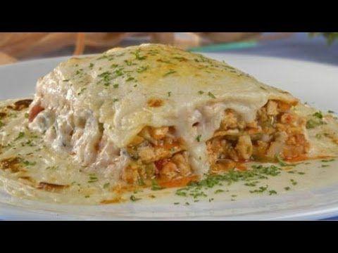 Lasaña de Pollo con Salsa Bechamel|Chicken Lasagna with Bechamel Sauce|Sabor en tu Cocina|Ep. 178 - YouTube