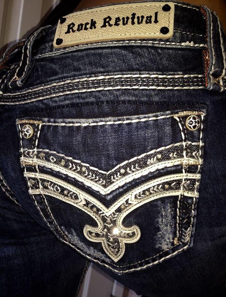 Rock Revival Jeans 31 BLING Minh Distressed straight Leg denim The Buckel Jeans #RockRevival #StraightLeg