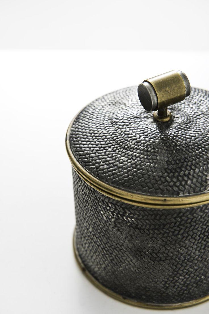 Estrid Ericsson pewter jar by Svenskt tenn at Studio Schalling