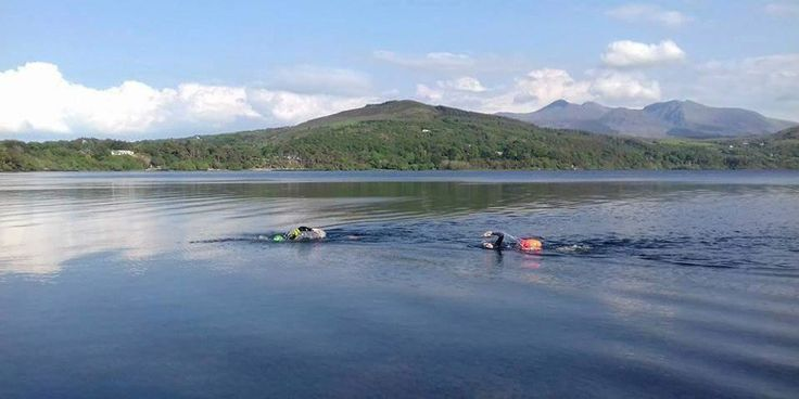 Caragh Lake Challenge - Wild swimming in Kerry