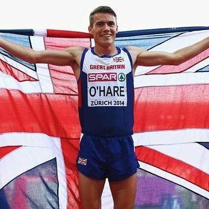 Chris O'Hare - Athletics. 1500m.