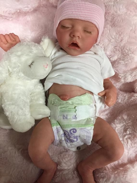 Extras Details about  /Twin Babies Preemie Life Like Reborn Pacifier Doll