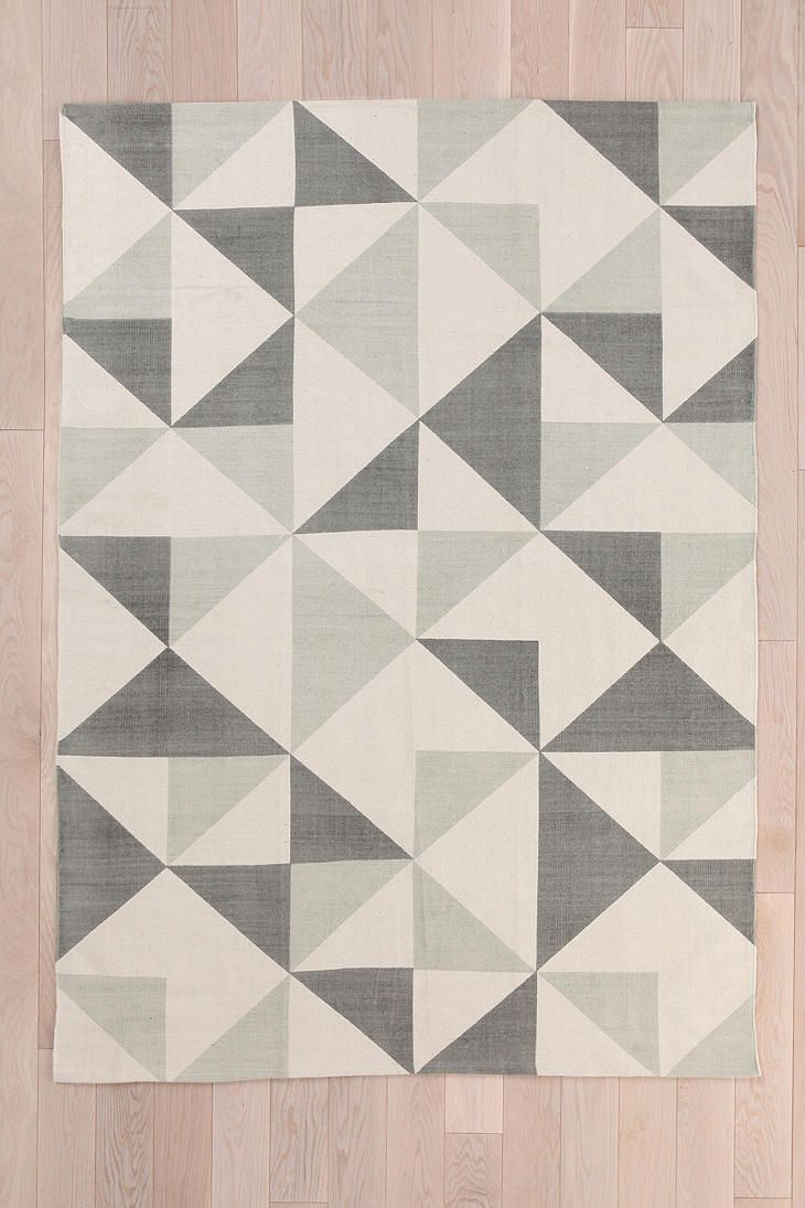 Would Be Cool To Do Something Like This On Cheap Rug. Assembly Home  Rotating Triangle