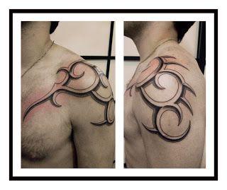 Downtown Buenos Aires Tattoo Studio: TRIBAL BISELADO