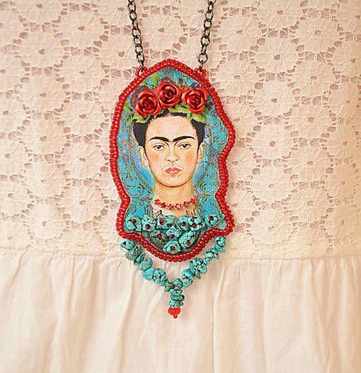 charoit / Náhrdelník Frida s tyrkenitom
