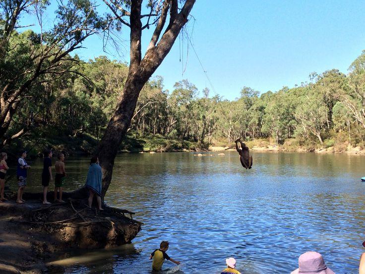 Island Pool Walk Trail, Lane Poole Reserve, Perth Hills   Trails WA