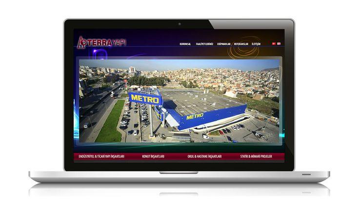 Türk inşaat sektörünün lider firmaları arasında yer alan Terra Yapı web sitesi yayında www.terrayapi.com