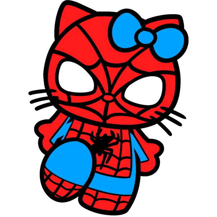 cute+hello+kitty+sketches | spiderman hello kitty drawing by trdaz digital art drawings paintings ...