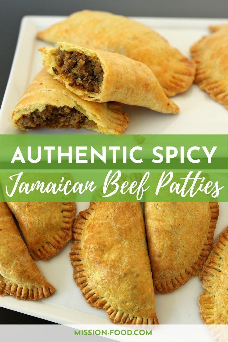 authentic spicy jamaican beef patties  jamaican beef