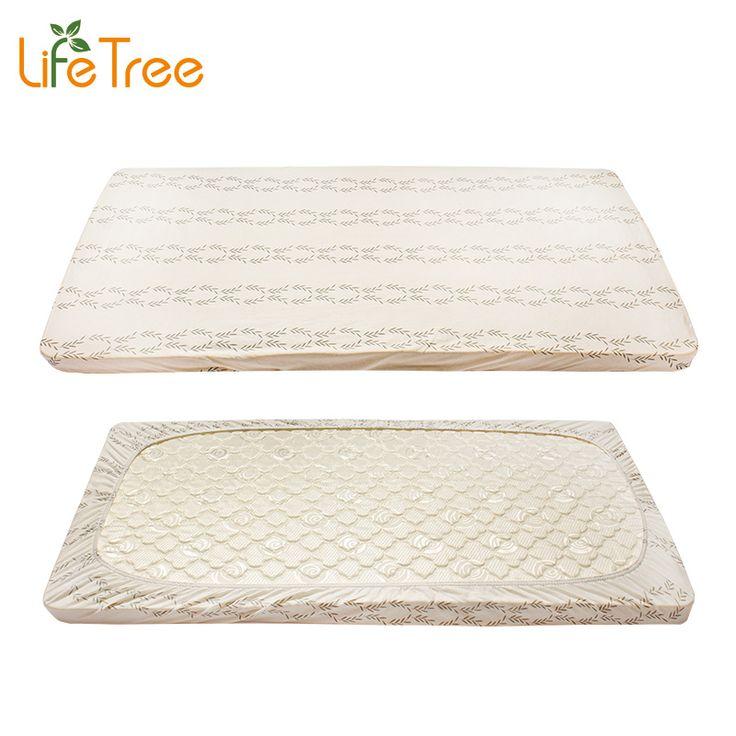 Lifetree 2 Pcs Set Baby Crib Ed Sheet Cotton Jersey Cot Bed Sheets Newborn Bedding Soft