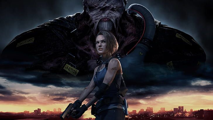 Jill Valentine Nemesis Resident Evil 3 Resident Evil 3 Remake