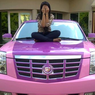 Pink Escalade ☆ Girly Cars for Female Drivers! Love Pink Cars ♥ It's the dream car for every girl ALL THINGS PINK! omgg