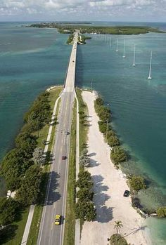 The Overseas Highway through the Florida Keys is the ultimate road trip: Spectacular views and things to do, places to go, places to hide and back roads to explore, hidden harbors and tiki bars galore.  Alongside the Overseas Highway, there are hundreds of places where you can pull over to fish or kayak or enjoy a pina colada. Camping in the Keys is a special treat, and there are dozens of magnificent coral reefs where you can snorkel or dive.