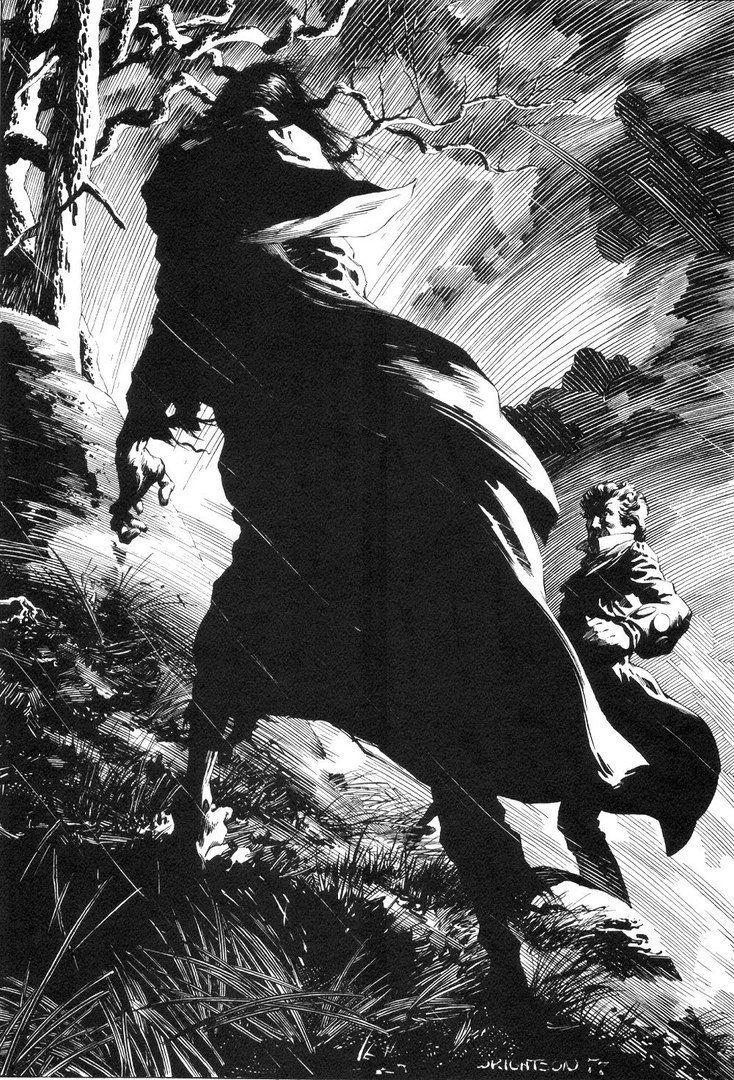 Bernie Wrightson Frankenstein Courtesy Wonderful Beautiful And Strange Finds