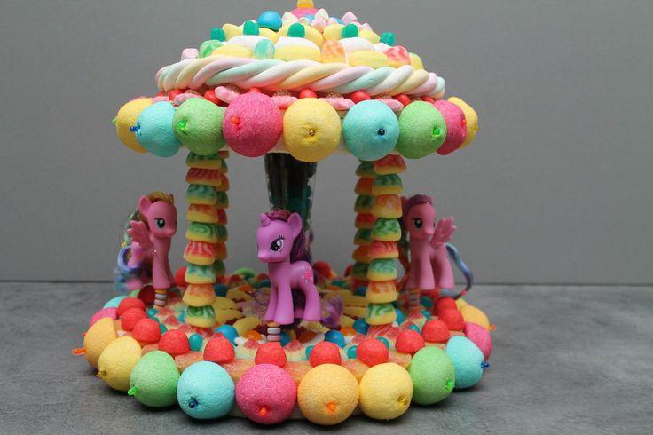 MANEGE gâteau de bonbons Mon petit poney