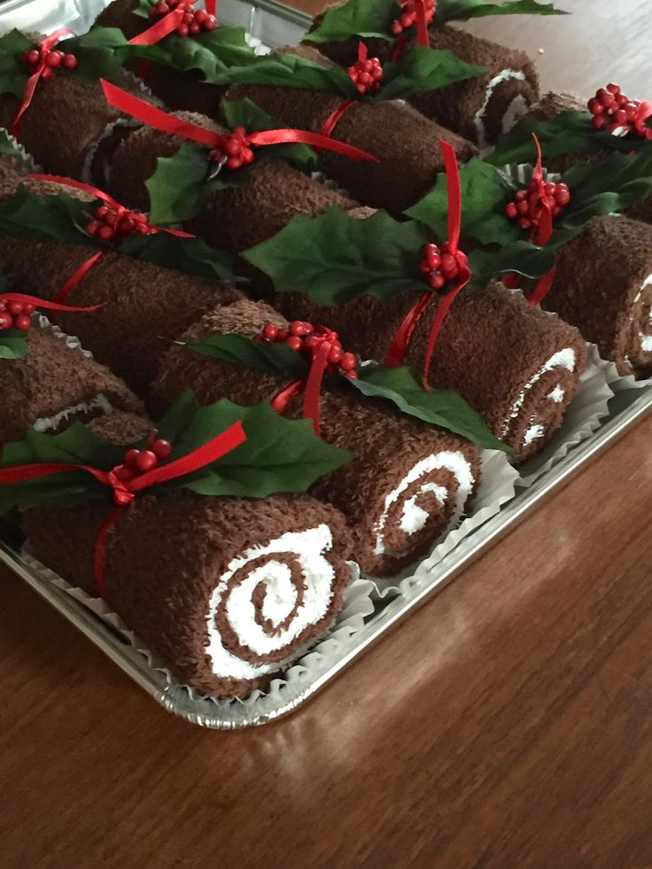 swiss roll gift idea - great for the person who has everything