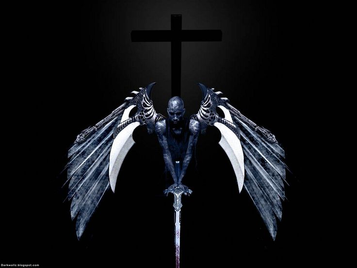 Dark Angel Wallpapers 36 | Dark Wallpapers High Quality Black ...