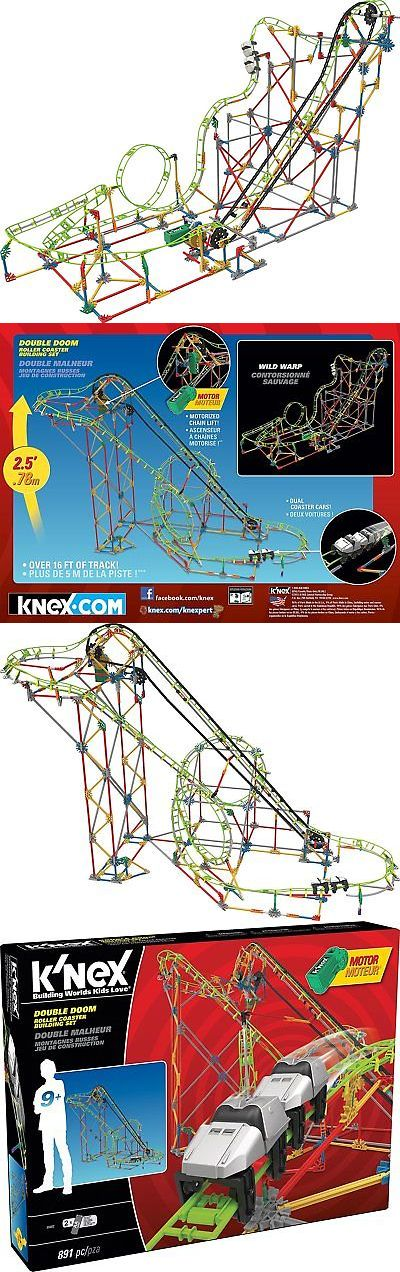 """KNEX 21254: K'Nex Thrill Rides €"""" Double Doom Roller Coaster Building Set €"""" 891 Pieces -> BUY IT NOW ONLY: $52.5 on eBay!"""