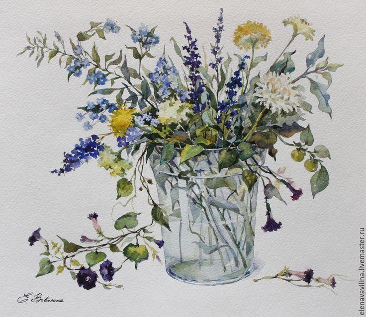Название полевых цветков, фото