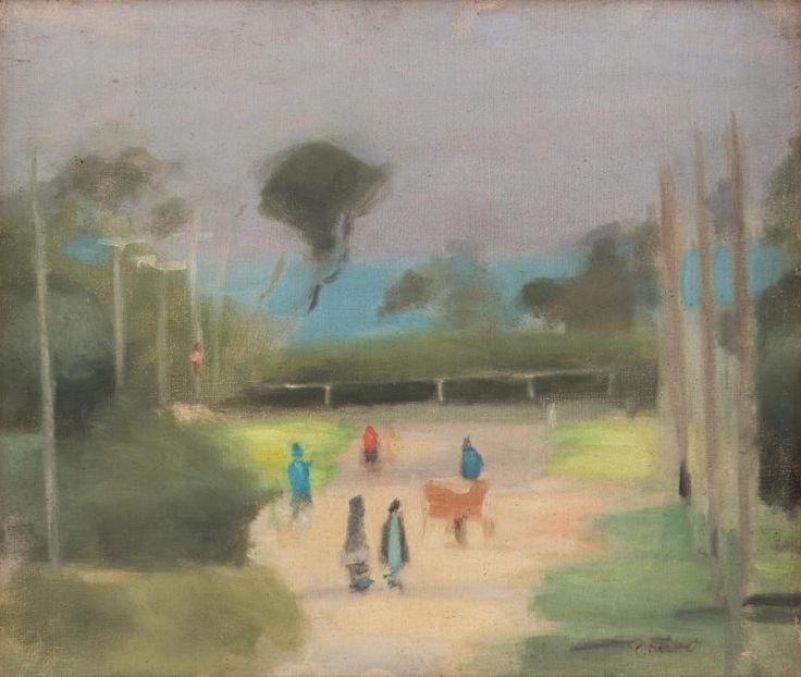 CLARICE MARJORIBANKS BECKETT (1887-1935) Out Walking - Price Estimate: $25000 - $35000